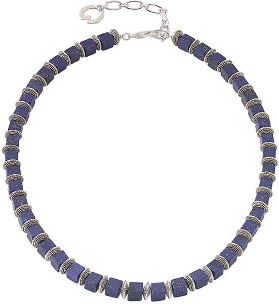 "Ars Mundi Petra Waszak: Collier ""Midnight Blue"""