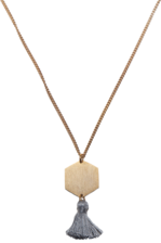 Hian Jewellery Tassel Chain - Hexagon