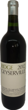 Ridge Vineyards Zinfandel Geyserville 2012