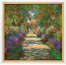 "Ars Mundi Claude Monet: Bild ""Garten in Giverny"""