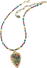 "Michal Golan: Collier ""Multi Flower Kristall"""