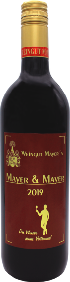 Cuvée rot Mayer & Mayer Thermenregion 2019